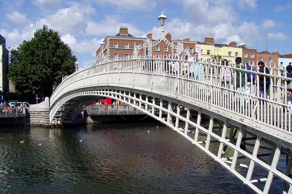 Dublin's Ha'penny Bridge