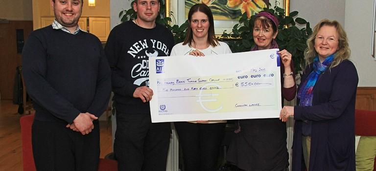 'Cloonfad Ladies' fundraising for Brain Tumour Support
